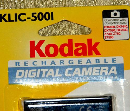 bateria kodak klic-5001(10 $)