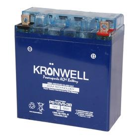 Bateria Kronwell Gel Yamaha T105 Crypton 110 Cc Yb5l-b
