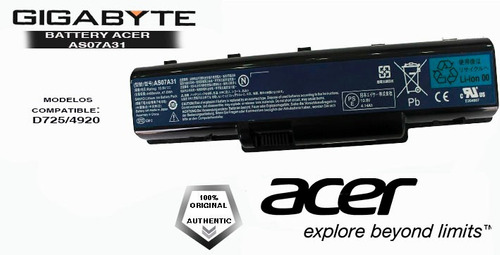 bateria laptop acer aspire 5536 original