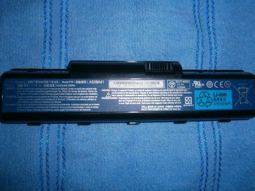 bateria laptop gateway nv52, d525, compatible modelos acer