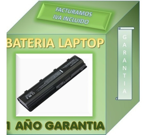 bateria laptop hp  dv5 2034la 6 celdas garantia 1 año