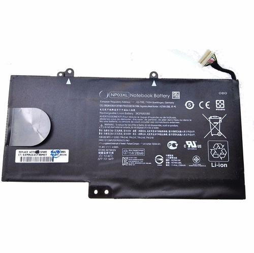 batería laptop hp np03xl notebook wifi usb original gb 4g sd