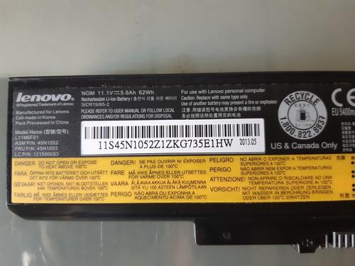 batería laptop lenovo z380 t60, t61