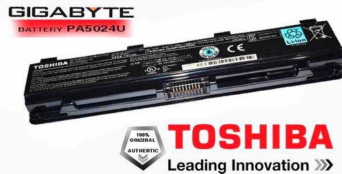 bateria laptop toshiba satellite c c870d original