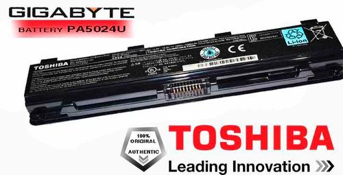 bateria laptop toshiba satellite c series c805-t06b original
