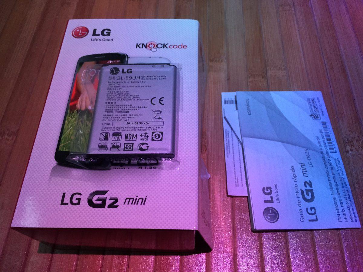 272a07d7f75 bateria lg g2 mini bl-59uh 100 % original lg 2440mah sellada. Cargando zoom.