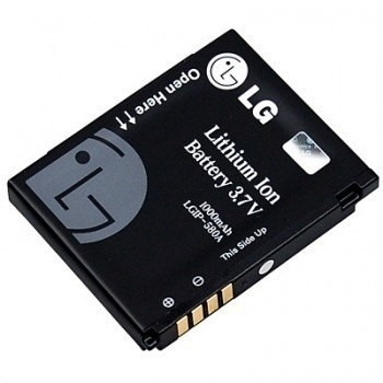 bateria lgip-580a original celular kc910 renoir c/ garantia