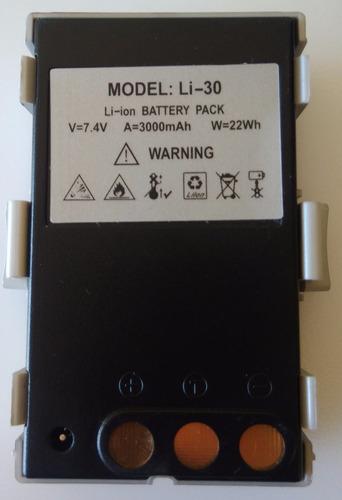 bateria li-30 para estações ruide produto 100% original c/nf