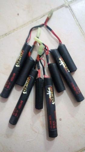 bateria li-ion de 11.1v con conector tamiya