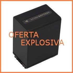 bateria li-ion np-fh100 np-fv100 np-fh50 larga duracion