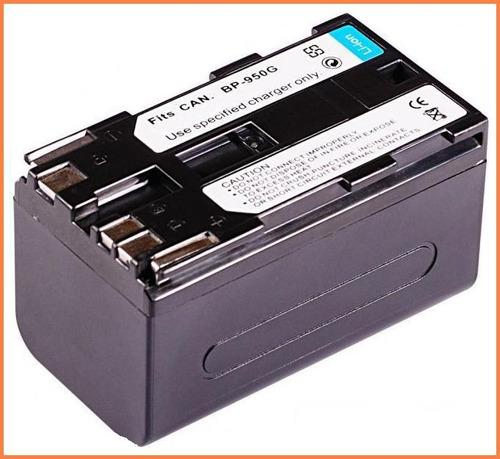 bateria li-ion recargable bp-950g para camara canon xl h1