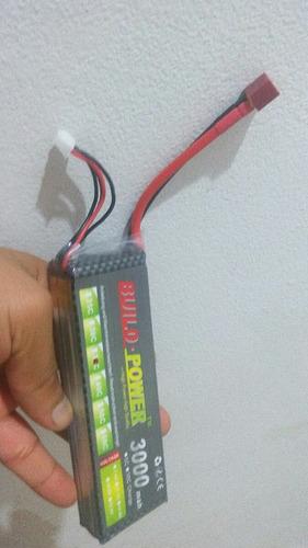 bateria lipo  11.1v - 3000 mah drones robot