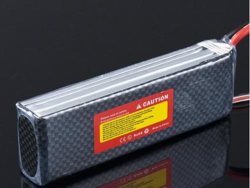 bateria lipo 11.1v 3s 4200mah 30c lion power