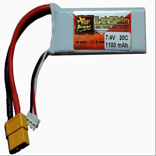 bateria lipo 7.4v 1100mah 20c recargable  nueva