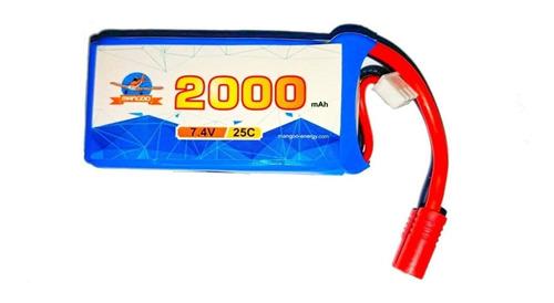 batería lipo 7.4v 2000mah 25c drones syma x8 x8c x8g otros
