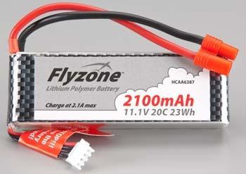 bateria lipo avion sensei 11.1v 2100 mah 20c hcaa6387