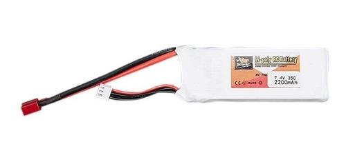 batería lipo zop 74.v 35c 2200mah 2s rc wltoys  feiyue etc.