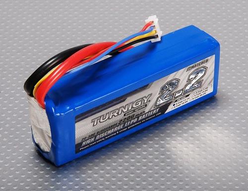 bateria lipoly turnigy 2200mah 3s 20c 11.1v frete econômico