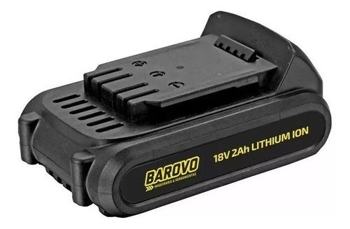 bateria litio 18v 2000mah barovo apto arduino robotica