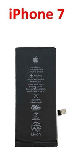 bateria litio para iphone 7 100% original cero cargas nuevas