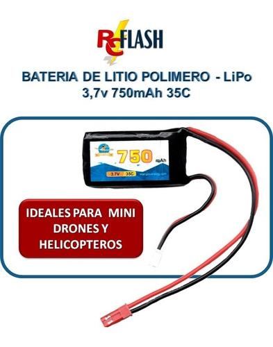 batería litio polímero lipo 3.7v drones jjrc eachine syma