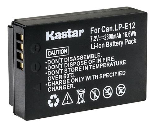 bateria lp-e12 para canon canon eos m, sl1, eos 100d