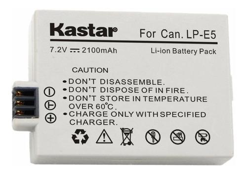 bateria lp-e5 para canon eos 450d 500d 1000d kiss rebel xs