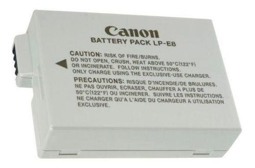 bateria lp-e8 paralela para câmeras canon