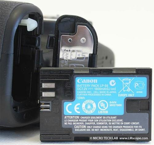 bateria lpe6 canon original 7d 6d 60d 70d