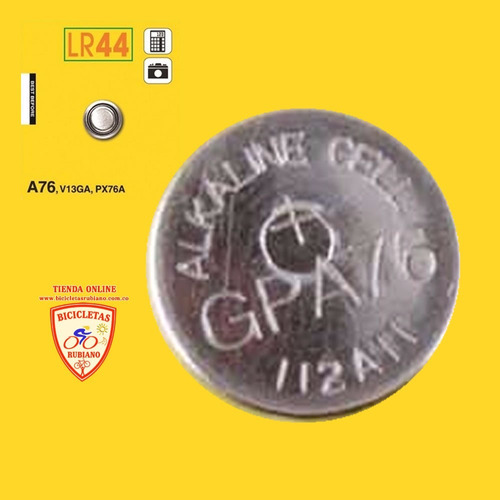 batería lr44 gp alkaline a76 v13ga bicicletería colombia