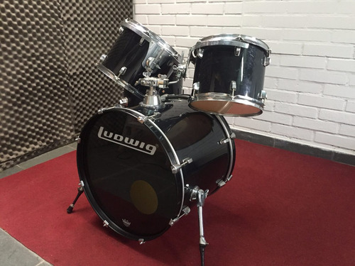 bateria ludwig accent cs shellpack