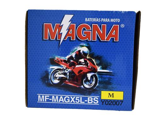 bateria magna bws100 mf-magx5l-bs