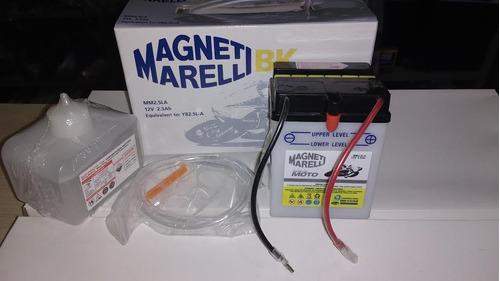 bateria magneti marelli mm2,5la cg 125 today titan até 99