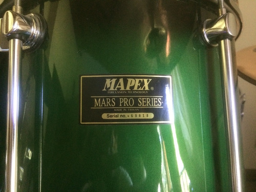bateria mapex mars pro series