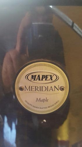 bateria mapex modelo meridian