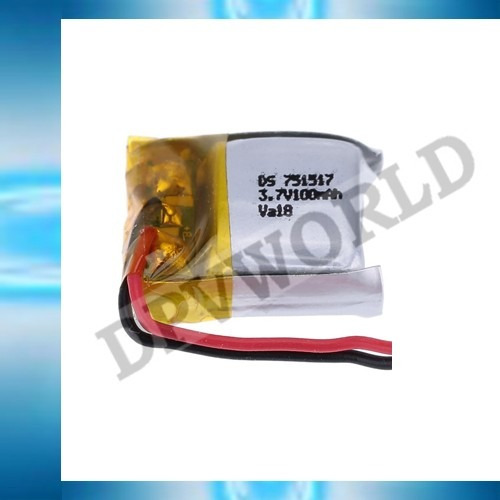 bateria mini drone cx-10 lh-x9  litio 3.7v 100mah repuesto