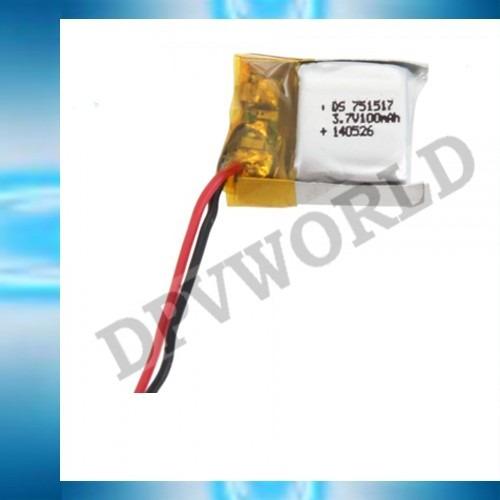 bateria mini drone cx-10 lh-x9  litio 3.7v 100mah repuesto
