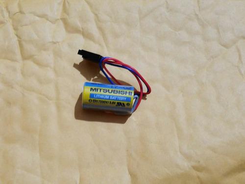 batería mitsubishi de plc  lithium 3.6 voltios