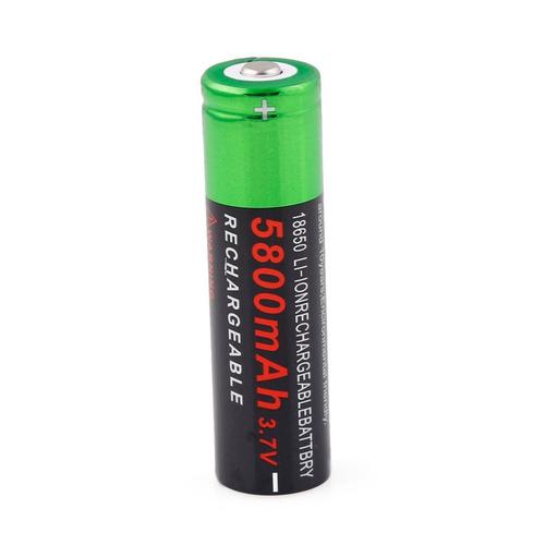 bateria modelo 18650 pila 5800 mah litio-ion 3.7v recargable