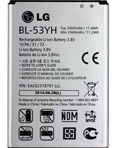bateria modelo g3 bl 53yh d855 d690 original