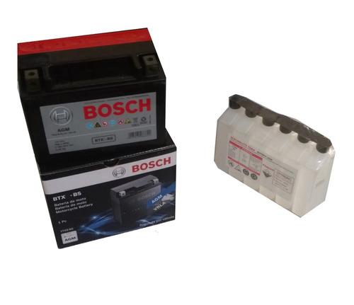 bateria moto bosch em gel- vt 600 c shadow2002a2006-8amperes