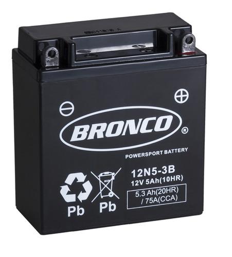 bateria moto bronco 12n5-3b gel 110 cc motoscba