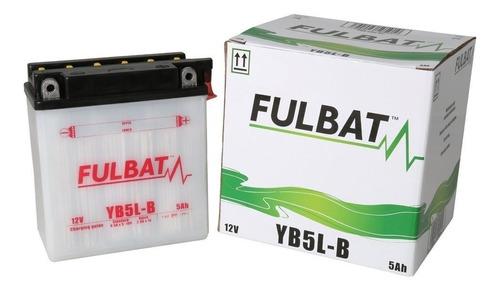 bateria moto fulbat yb5l-b 12v 5ah