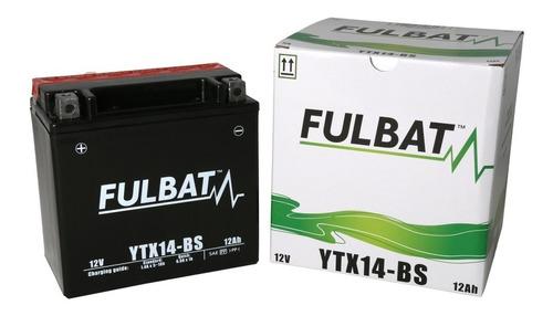 bateria moto fulbat ytx14-bs 12v 12ah