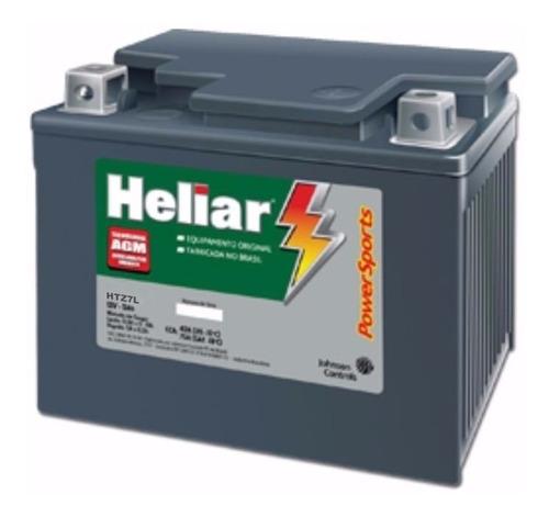 bateria moto heliar htz7 honda crf 230 original - promoção