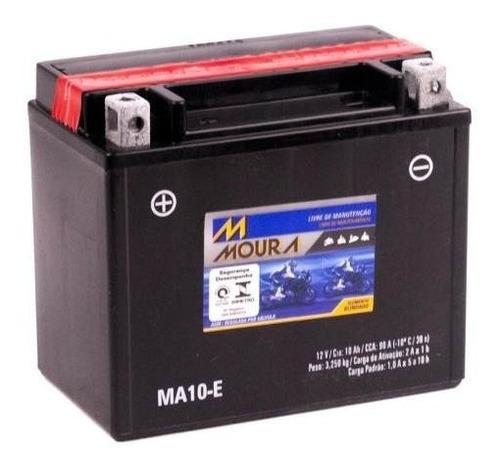 bateria moto ma10-e moura 10ah suzuki gsx-r1000 gsxr750w m50