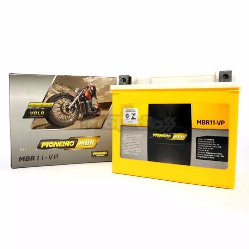 bateria moto mbr 11-vp dafra roadwin 250 horizon 250