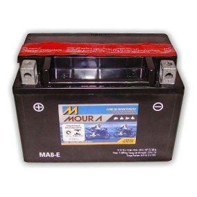 bateria moto moura ytx9-bs / ma8-e 8ah cb500 shadow 600 cbr9