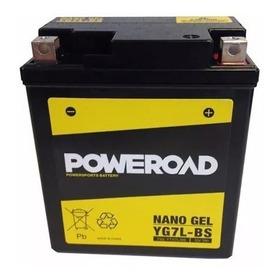 Batería Moto Poweroad Gel Yg7l-bs= Ytx7l-bs Tornado-twister