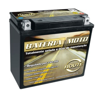 bateria moto route harley davidson heritage classic  20 ah